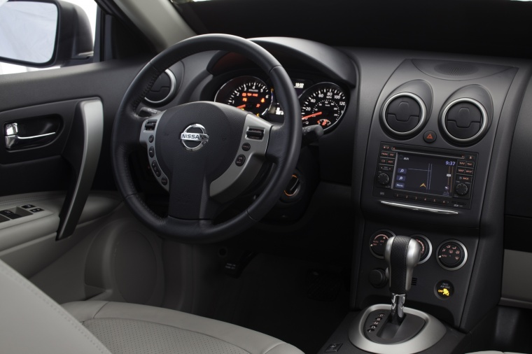 2012 Nissan Rogue SV with SL Package AWD Cockpit Picture