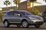2012 Nissan Rogue SV with SL Package AWD in Platinum Graphite - Static Front Right Three-quarter View