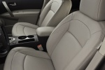 2012 Nissan Rogue SV with SL Package AWD Front Seats
