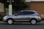 2012 Nissan Rogue SV with SL Package AWD in Platinum Graphite - Driving Side View