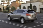 2012 Nissan Rogue SV with SL Package AWD in Platinum Graphite - Static Rear Left Three-quarter View