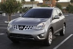 2013 Nissan Rogue SV with SL Package AWD in Platinum Graphite - Static Front Left View