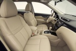 Picture of a 2014 Nissan Rogue SL AWD's Front Seats in Almond