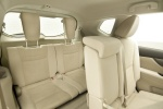 Picture of a 2014 Nissan Rogue SL AWD's Third Row Seats in Almond