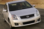 2010 Nissan Sentra SE-R in Brilliant Silver Metallic - Driving Front Right View