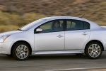 2010 Nissan Sentra SE-R in Brilliant Silver Metallic - Driving Side View