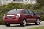 2010 Nissan Sentra SL Sedan in Red Brick Pearl - Static Rear Right View