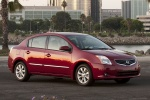 2011 Nissan Sentra SL Sedan in Red Brick Pearl - Static Front Right Three-quarter View