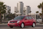 2011 Nissan Sentra SL Sedan in Red Brick Pearl - Static Front Left View