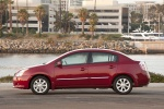 2011 Nissan Sentra SL Sedan in Red Brick Pearl - Static Left Side View