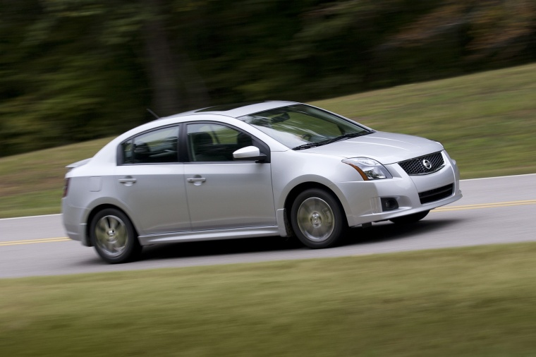 2012 nissan sentra sr special edition sedan picture pic image. Black Bedroom Furniture Sets. Home Design Ideas