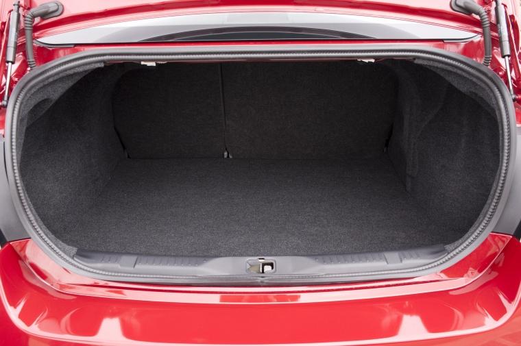 2012 Nissan Sentra SL Sedan Trunk Picture