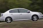 2012 Nissan Sentra SR Special Edition Sedan in Brilliant Silver - Driving Side View