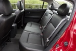 Picture of 2012 Nissan Sentra SL Sedan Rear Seats in Charcoal