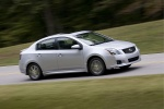 2012 Nissan Sentra SR Special Edition Sedan in Brilliant Silver - Driving Front Right Three-quarter View