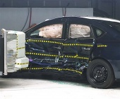 2013 Nissan Sentra IIHS Side Impact Crash Test Picture