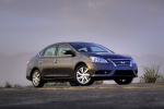 2013 Nissan Sentra SL in Amethyst Gray - Static Front Right Three-quarter View
