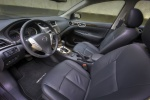 2013 Nissan Sentra SL Front Seats in Charcoal