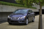 2013 Nissan Sentra SL in Amethyst Gray - Static Front Left View