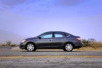 2013 Nissan Sentra SL in Amethyst Gray - Static Side View