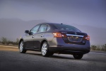 2013 Nissan Sentra SL in Amethyst Gray - Static Rear Left View