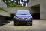 2015 Nissan Sentra SL in Amethyst Gray - Static Frontal View