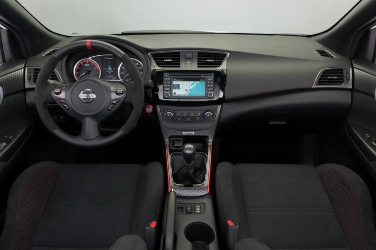 2017 Nissan Sentra NISMO Cockpit Picture