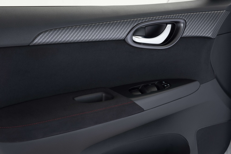 2017 Nissan Sentra NISMO Door Panel Picture