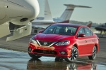 2017 Nissan Sentra SR in Red Alert - Static Front Left View