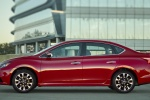 2017 Nissan Sentra SR in Red Alert - Static Side View