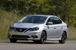 2017 Nissan Sentra SR Turbo in Brilliant Silver - Driving Front Left Three-quarter View