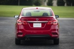 2017 Nissan Sentra SR Turbo in Red Alert - Static Rear View