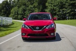 2017 Nissan Sentra SR Turbo in Red Alert - Driving Frontal View