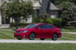 2017 Nissan Sentra SR Turbo in Red Alert - Driving Front Left Three-quarter View