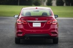 2018 Nissan Sentra SR Turbo in Red Alert - Static Rear View
