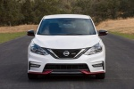 2018 Nissan Sentra NISMO in Aspen White - Static Frontal View
