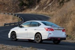 2018 Nissan Sentra NISMO in Aspen White - Static Rear Left Three-quarter View