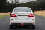 2018 Nissan Sentra NISMO in Aspen White - Static Rear View