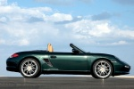 2010 Porsche Boxster in Malachite Green Metallic - Static Side View