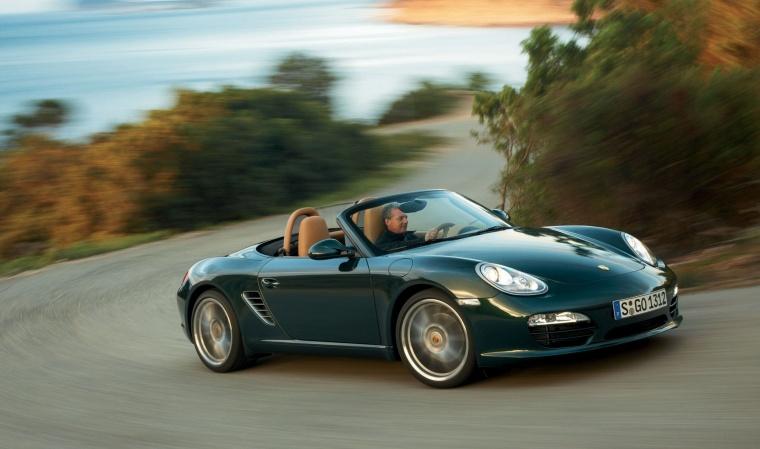 2011 Porsche Boxster In Malachite Green Metallic Color