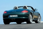 2011 Porsche Boxster in Malachite Green Metallic - Static Rear Right View