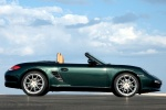 2011 Porsche Boxster in Malachite Green Metallic - Static Side View
