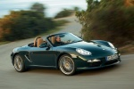 2011 Porsche Boxster in Malachite Green Metallic - Driving Front Right Three-quarter View