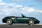 2012 Porsche Boxster in Malachite Green Metallic - Static Side View