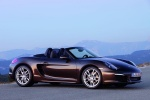 2014 Porsche Boxster in Anthracite Brown Metallic - Static Side View