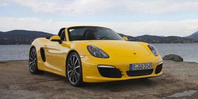 2015 Porsche Boxster Pictures