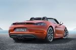 2018 Porsche 718 Boxster S in Lava Orange - Static Rear Right View