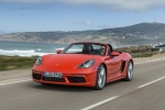 2018 Porsche 718 Boxster S in Lava Orange - Static Front Left View