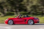 2018 Porsche 718 Boxster S in Lava Orange - Driving Side View