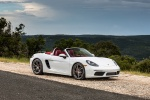 2018 Porsche 718 Boxster S in Carrara White Metallic - Static Front Right Three-quarter View